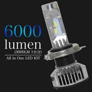 H4対応 LED電球 マツダ スピアーノ 型式HF21S ヘッドライト用 左右セット送料無料(一部除く)