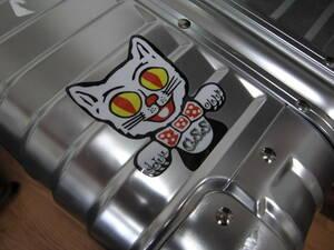 ローライダー ステッカー キャット CAT トッパー ライセンストッパー ムーンアイズ アメリカ BOMB mooneyes usdm hotrod ハーレー