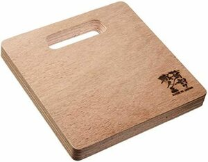 [SEIDO] (Medium) 薪割り台 まきわり台 薪割り職人 日本国産 キャンプ用 バトニング台 ブッシュクラフト 鍋敷き