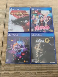 PS4ソフト 4本セット