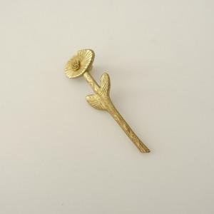 ■ミナペルホネン mina perhonen *fortuna ブラスブローチ*真鍮フラワー花コサージュアクセサリーピンバッジレディース0921【92I12】