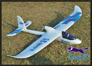 ビッグスカイサーファー翼幅1480ミリメートル58.3in epグライダー飛行機4チャンネルrc飛行機簡単にフライ (キットセットまたはpnpセット)