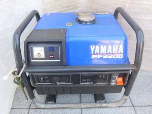 中古 ヤマハ ガソリン発電機 EF2200 新でん