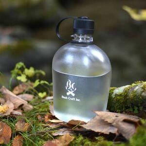 Bush Craft ブッシュクラフト キャンティーンボトル ケース付  ミリタリー 水筒