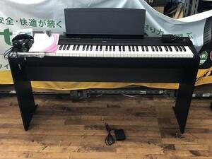 【超美品】 YAMAHA ヤマハ P-115B 電子ピアノ キーボード 2015年製 譜面台 フットペダル アダプター 直接引取歓迎! 動作良好品(G8608)