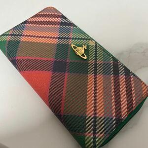 【未使用】 Vivienne Westwood ヴィヴィアンウエストウッド ラウンドファスナー 長財布
