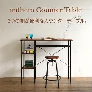 カウンターテーブル ブラウン パソコンデスク ハイデスク バーカウンター アンセム anthem Counter Table ANT-2399