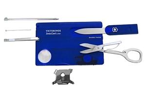 Victorinox No.7322.T2 スイスカードライト Blue・13機能