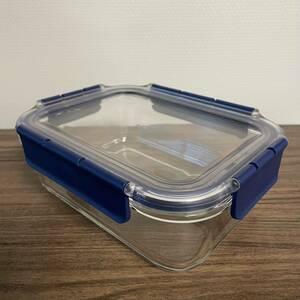 耐熱ガラス 保存容器 オーブン対応 1.0L 4点ロック式 ロック&ロック