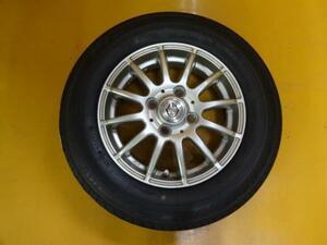 送料無料 新品タイヤ 中古ホイールセット 145/80R13 モコ N-BOX アルト ワゴンR ムーヴ 軽自動車 ブリヂストン プレイズ