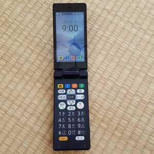 美品 SIMフリー505SH ソフトバンク SoftBank かんたん携帯9 ケータイネイビーブルー シャープ SIMロック解除済 ガラケーガラホ本体 その104