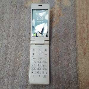 SIMフリー 701kc SIMロック解除済 SoftBank Y!mobile ワイモバイル 白ホワイト京セラ DIGNOケータイ501 502 ガラケーガラホ初期化OKその119
