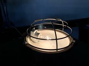 フランスアンティーク インダストリアルランプ ビンテージ ビンテージランプ 工業系 インダストリアルインテリア カプセルランプ
