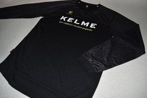 美品 KELME ロングプラクティス ロンT 2XL ブラック