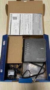 NEC Aterm WiFiルーター PA-WG1200CR