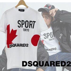 定価3.4万ディースクエアードDSQUARED2カプセルコレクションTシャツL