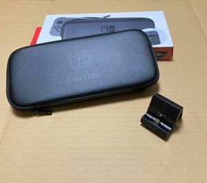 Nintendo Switch 純正キャリングケース、純正Nintendo Switch充電スタンド