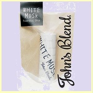 ☆★タイムセール★☆ John's ノルコ-ポレ-ション D-H3 ホワイトムスクの香り 3.5g Blend 練り香水 フレグランススティック