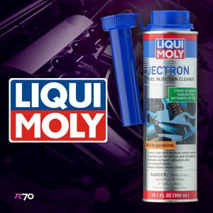 LIQUI MOLY リキモリ JECTRON ジェクトロン 老舗メーカー定番ガソリン添加剤 インジェクターやフューエルラインの洗浄と保護