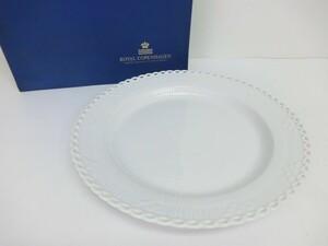 ROYAL COPENHAGEN ロイヤルコペンハーゲン ホワイトフルーテッド 33.5cm プレート 大皿