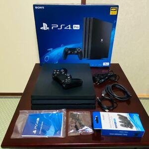PlayStation 4 Pro 1TB SSD換装済み コントローラー充電器