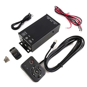 high power 4CH audio amplifier kit Bluetooth Bluetooth built-in bike in-vehicle out attaching controller attaching