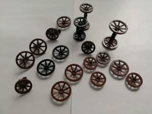 LEGO お城シリーズ系車輪パーツ大量