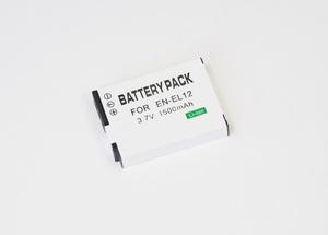 【Nikon EN-EL12】ニコン★1500mAh 互換バッテリー PSE認証 保護回路内蔵 バッテリー残量表示可 リチウムイオン充電池