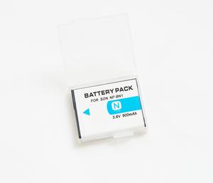 【SONY NP-BN1】ソニー/900mAh 互換バッテリー PSE認証 保護回路内蔵 バッテリー残量表示可 リチウムイオン充電池