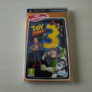 PSP ソフト トイ・ストーリー3 TOY STORY3 レア 希少品 北米版 海外版 国内版本体動作可 動作確認済 送料無料★