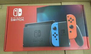送料無料 Nintendo Switch ニンテンドースイッチ 本体 ネオンブルー ネオンレッド HAD-S-KABAA 未開封 新品