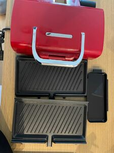 ホットプレート 2Way Grill Amet(2ウェイグリル アメット)Red レッド RWG-1(R)