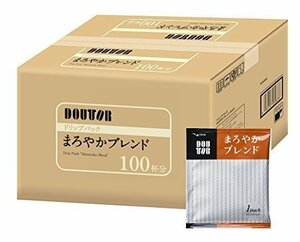 【新品最安値】AG100PX1箱 ドトールコーヒーVD-I4ドリップパック まろやかブレンド100P