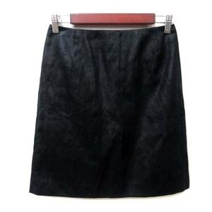 フレームワーク Framework ミニスカート タイト フェイクスエード 38 黒 ブラック /YI レディース