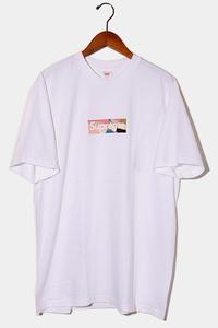 未使用品 2021SS Supreme × Emilio Pucci シュプリーム Box Logo Tee ボックスロゴ 半袖Tシャツ L White Dusty Pink 白 ピンク /● メンズ