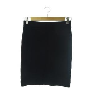 フレームワーク Framework スカート ニット タイト ミニ ウール 黒 ブラック /AO20 ☆