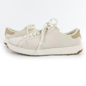 コールハーン COLE HAAN スニーカー GRAND SPORT LACE OX テニス W02897 白 ホワイト レザー 軽量 6B 約23cm 靴 レディース