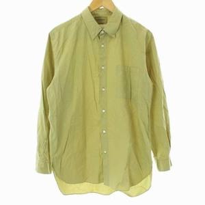 マーカウェア 18AW レギュラーカラーシャツ レギュラーフィット REGULAR COLLAR SHIRTS REGULAR FIT 長袖 1 S ベージュ メンズ