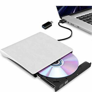 外付け DVDドライブ USB 3.0 type-c 外付CD・