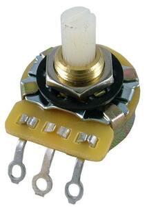 ポット Potentiometer - CTS, Audio, Splined Nylon Shaft, 1 MΩ [送料170円から 同梱可]