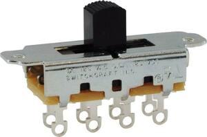 スイッチ Switch - Switchcraft, Slide, DPTT, 3-Position [送料170円から 同梱可]
