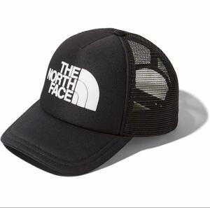 ブラック☆ノースフェイス THE NORTH FACE ロゴメッシュキャップ