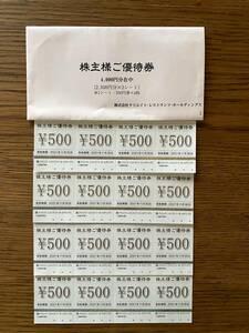 ★クリエイト・レストランツ株主優待券8000円分(磯丸水産、しゃぶ菜他)