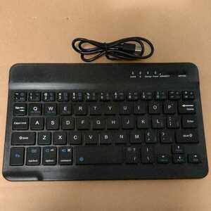 ◆ワイヤレス コンパクト キーボード 持ち運び Bluetooth 接続 USB充電式
