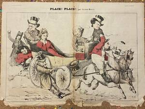 Antique French NewsPaper[Don Quichotte] フランス アンティーク 新聞 風刺画 古書 古紙 洋書 骨董 ポスター ビンテージ アート本 2