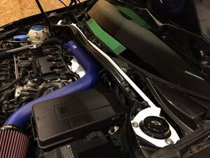 UltraRacing front tower bar VW Golf MK6 GTI R Sirocco 1.4T R