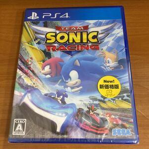 新品未開封 PS4 チームソニックレーシング 新価格版