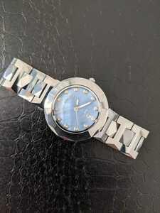 稼動品 美品 ROYAL ARMANI ロイヤルアルマニー 超硬タングステン 腕時計 メンズ レディース 3針 カレンダー 電池交換済 キレイ