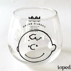 チャーリー・ブラウン 日本製「ゆらゆらタンブラー」ピーナッツ 320ml ガラス 金正陶器 SNOOPY