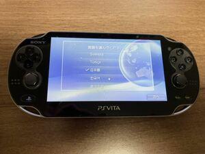 SONY PlayStation Vita本体 PCH-1000 有機EL 32GBメモリーカード、ハンドグリップ付き